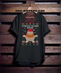 Ginger Beard Man Christmas Tshirt