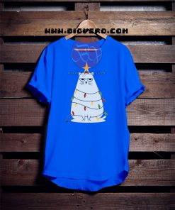 Grumpy Christmas Cat Tshirt