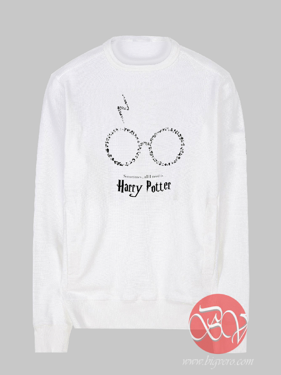 5a851daff Harry Potter Quotes Sweatshirt - Cool Sweatshirt Designs by Bigvero.com