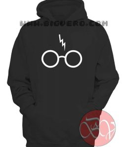 Harry Potter Scar and Glasses Hoodie
