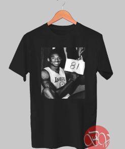 Kobe 81 Tshirt