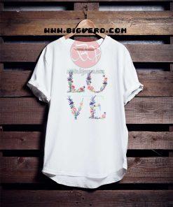 Love Floral Tshirt