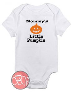 Mommy's Little Pumpkin Baby Onesie