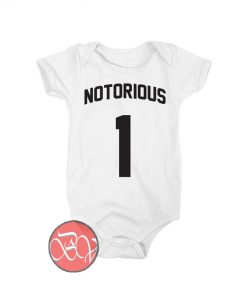 Notorious One Baby Onesie