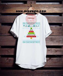 Oh Chemistree Christmas Tshirt