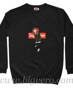 Pennywise IT Bape Supreme Sweatshirt
