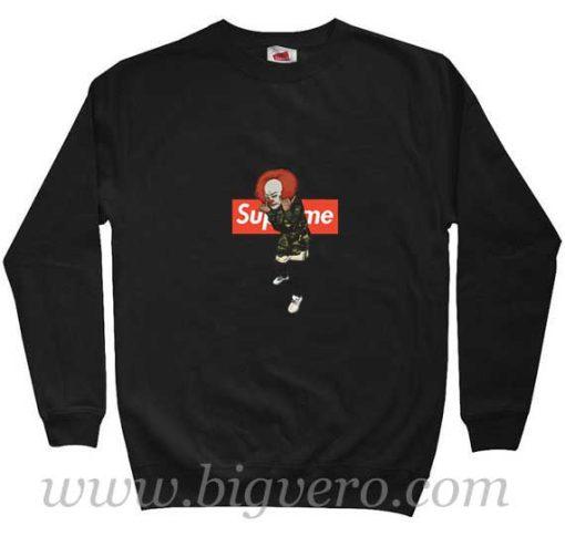 Pennywise IT Bape Supreme Sweatshirt