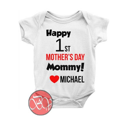 Personalized Happy 1st Mother's Day Mommy