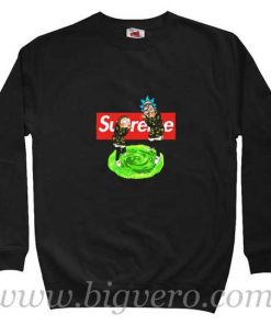 Rick and Morty Bape Supreme Sweatshirt