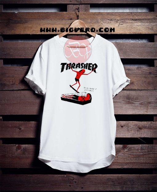 Thrasher Coffin Tshirt