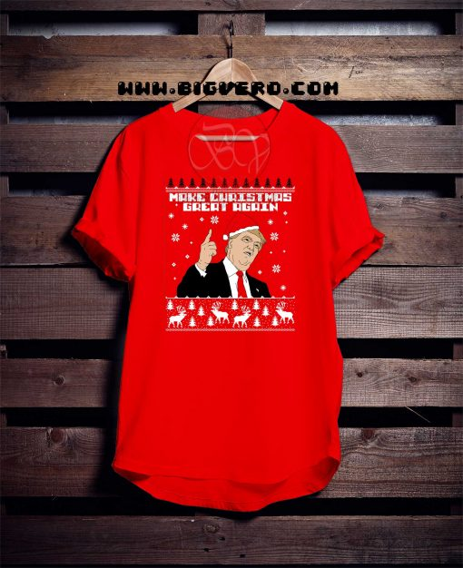 Trump Make Christmas Great Again Trump Make Christmas Great TshirtTshirt
