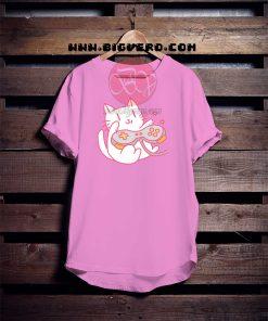 Vintage Hipster Video Game Cat Tshirt