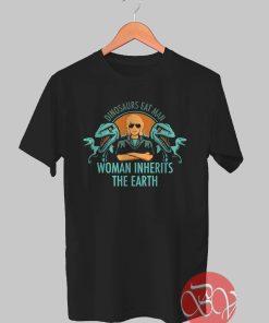 Woman Dinosaurs Tshirt