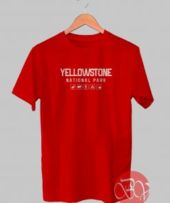 Yellow Stone Camp Logo Tshirt