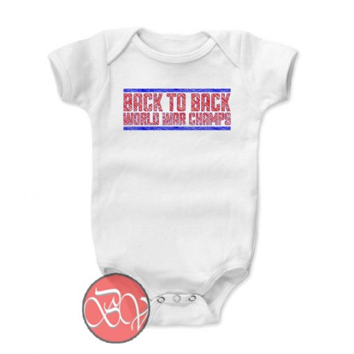 Back to Back World Champs Onesie