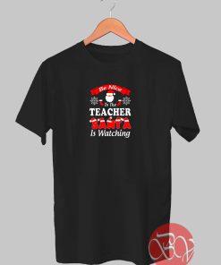 Christmas Teacher Tshirt
