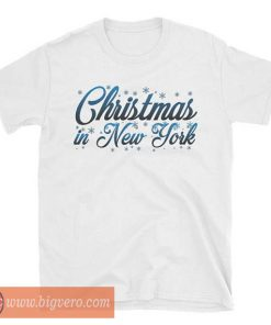 Christmas in New York Tshirt