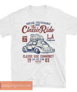 Classic Ride LA Beetle Bug T Shirt
