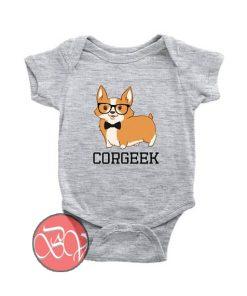 Corgeek Corgi Baby Onesie