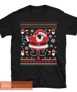 Dabbing Santa Claus Ugly Christmas