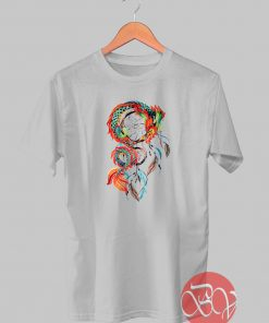 Dragon Dream Catcher Tshirt