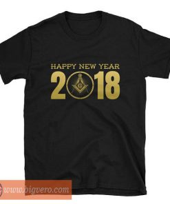 Happy New Year 2018 Shirt