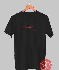 Hellboy Lil Peep Tshirt