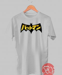 Japanese Batman Tshirt