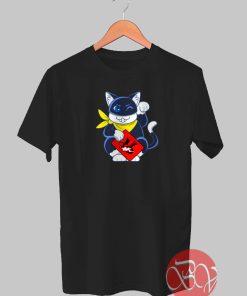 Lucky Cat Tshirt
