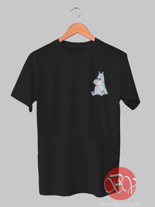 Moomins 90s holographic Tshirt