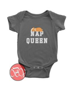 Nap Queen Corgi Dog Baby Onesie