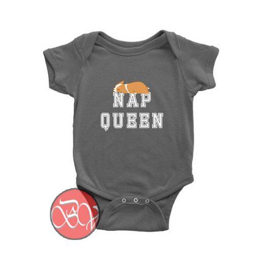 Nap Queen Corgi Dog Baby Onesie