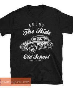 Old School Classic Style Beetle Tshirt