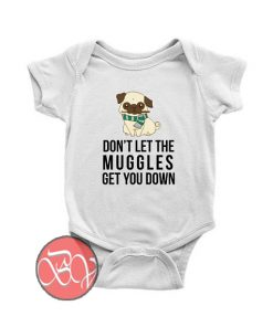 Pug Muggle Harry Potter Baby Onesie