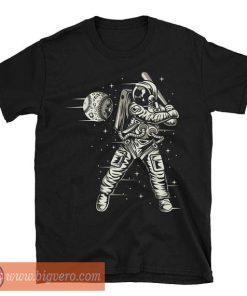 Space Baseball Astronaut T Shirt