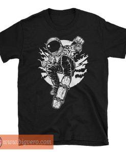 Space Skater - Astronaut's Skateboard