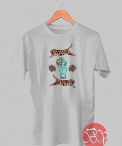 Fire Hoop Tiger Tshirt