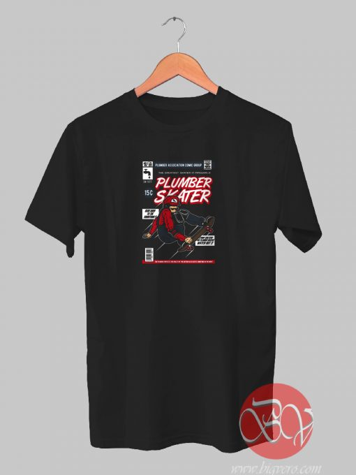Plumber Skater Mario Tshirt