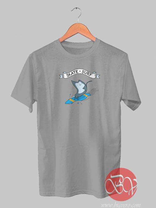 Skate Surf Fish Tshirt