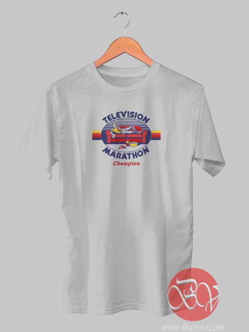 Television Marathon Champion Tshirt