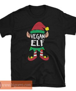 Vegan Elf Christmas T-Shirt