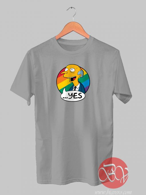 Yes To Equality Tshirt