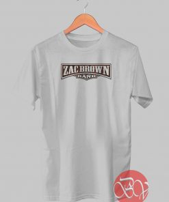 Zac Brown And Band Tshirt