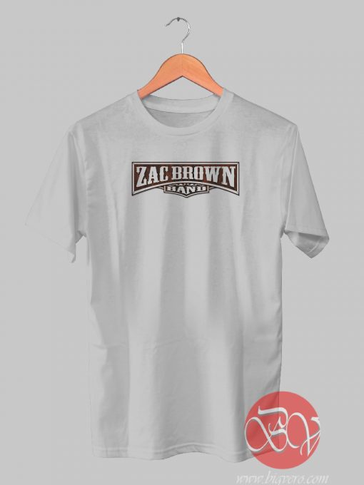 Zac Brown And Band Tshirt