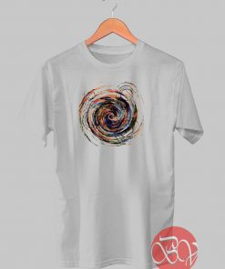 Gravity Color Whirlpool Abstract T-shirt
