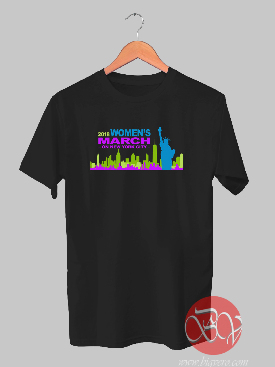 March 2018 New York Woman T-shirt - Ideas T-shirt - Designs Bigvero.com