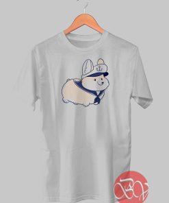 Nautical Corgi T-shirt