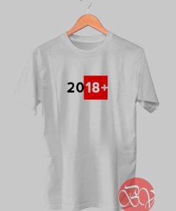 Year 2018 T-shirt