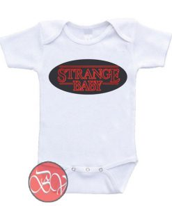 Strange - Stranger Things Baby Onesie