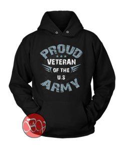 Proud Veteran Army Hoodie